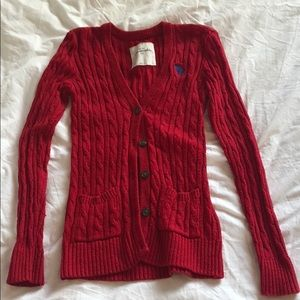 Abercrombie Kids cardigan/button up sweater